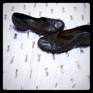 Clarks Brown Heel